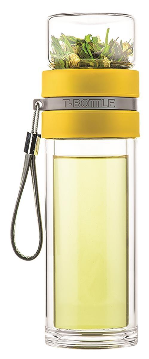 T-BOTTLE Teeflasche Honig-Gelb