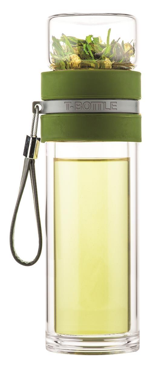 T-BOTTLE Teeflasche Waldgrün