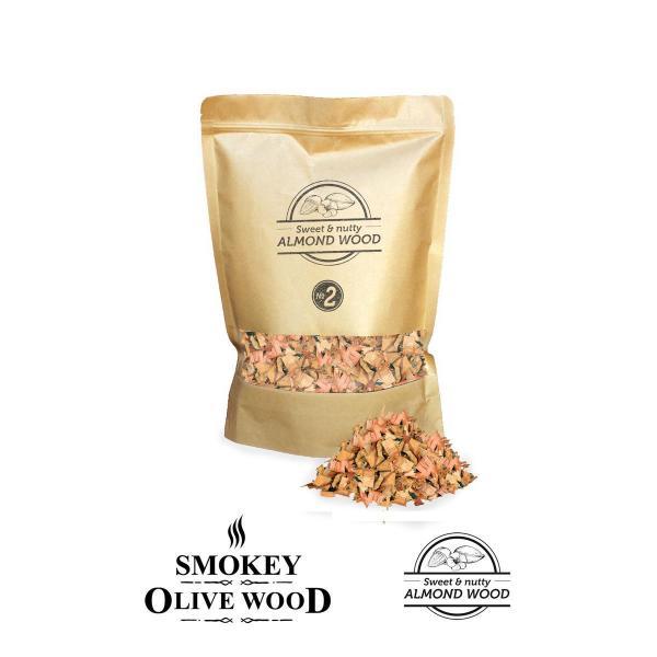 Smokey Olive Wood - Chips Mandel 1,7L