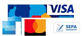 Logo Zahlungsmethoden